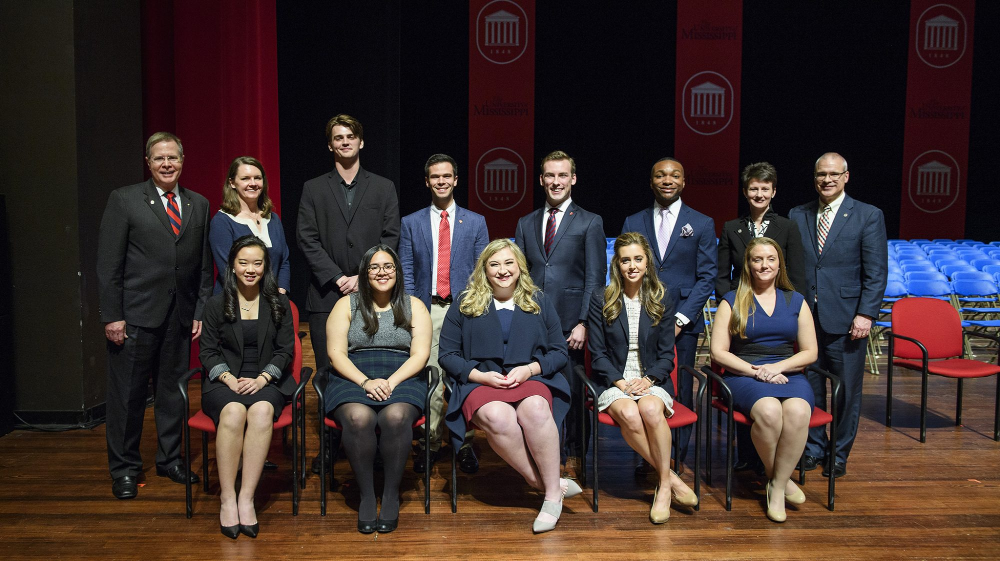 Congratulations to 3 PPL students who were named into Ole Miss Hall of Fame: Allen Coon, Austin Spindler, and Savannah Smith!