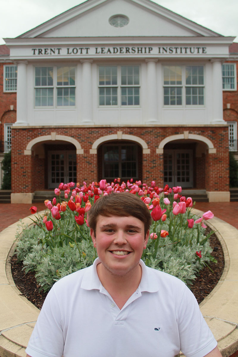 Jack Furla, Student Ambassador for the Department of Public Policy Leadership