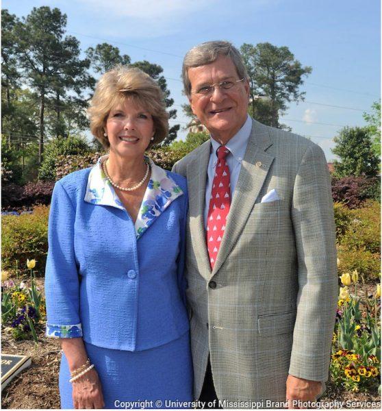 Patricia and Sen. Trent Lott
